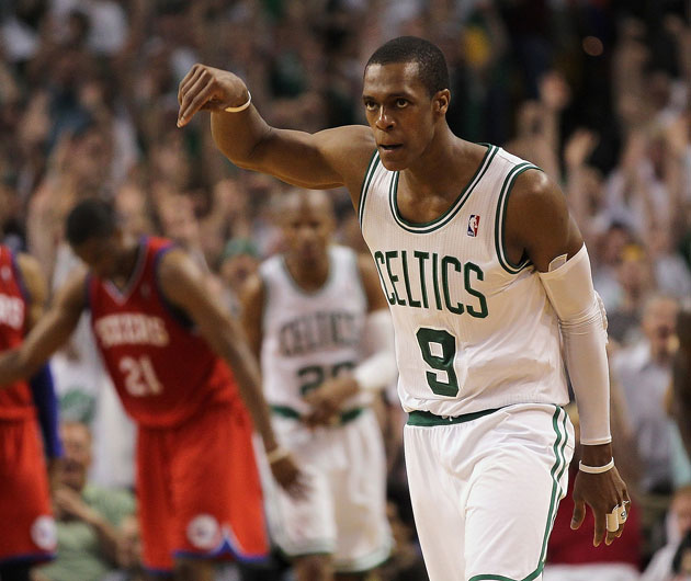 Danny Ainge, twice, calls Rajon Rondo the best player on the Bo…