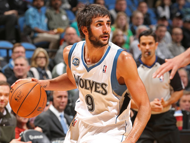 Ricky Rubio has a monster game for the Timberwolves, is called …