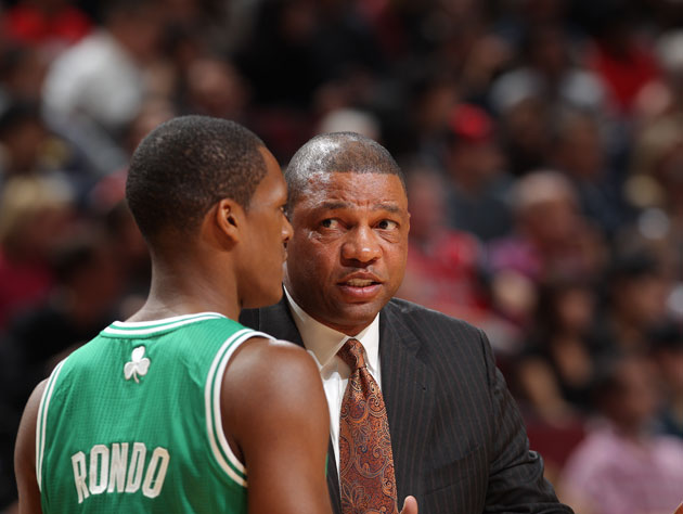 Rajon Rondo stays in a blowout Boston Celtics loss in order to …