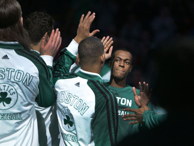 Rajon Rondo's reunion with his new Boston Celtics team has been…