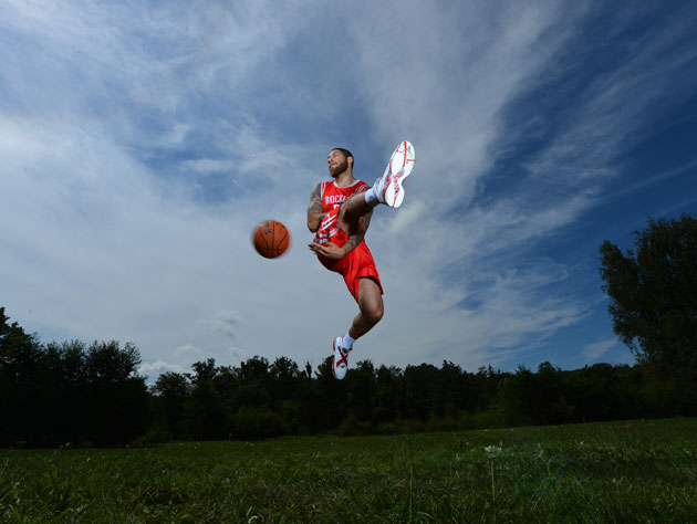 Royce White is attempting to secure a bus to drive him to some …
