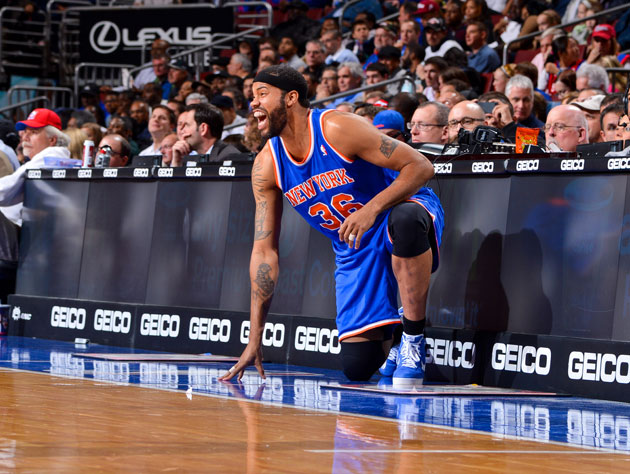 Rasheed Wallace yells 'YEAH AFLAC' after a player not named 'Af…