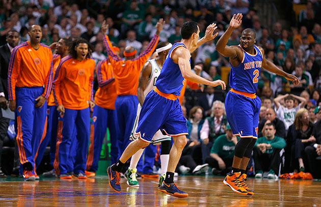 New York Knicks survive disastrous 4th quarter to beat Boston C…