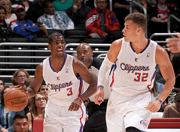 Blake Griffin and Chris Paul hook up for 3 straight massive all…