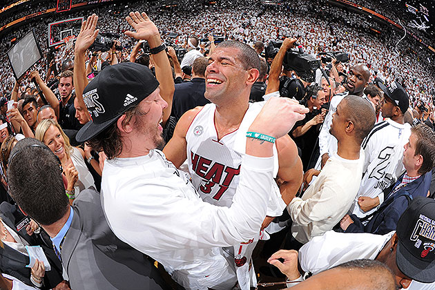 Shane Battier hits 6 3-pointers in huge Game 7 explosion: 'Repo…