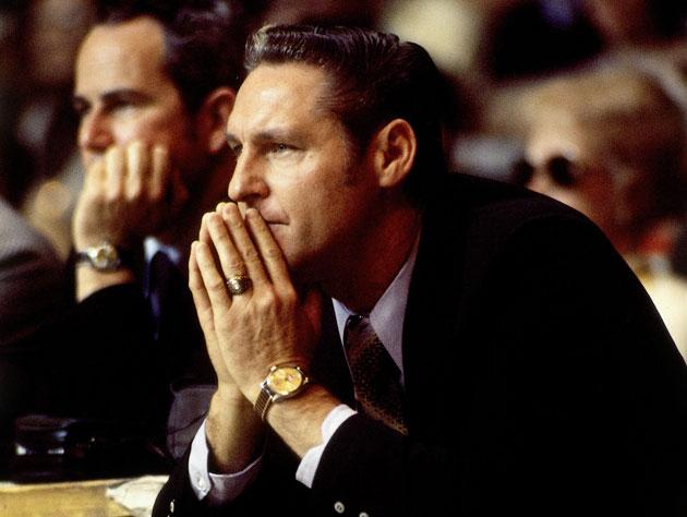 Bill Sharman, five-time NBA champion and Basketball Hall of Fam…