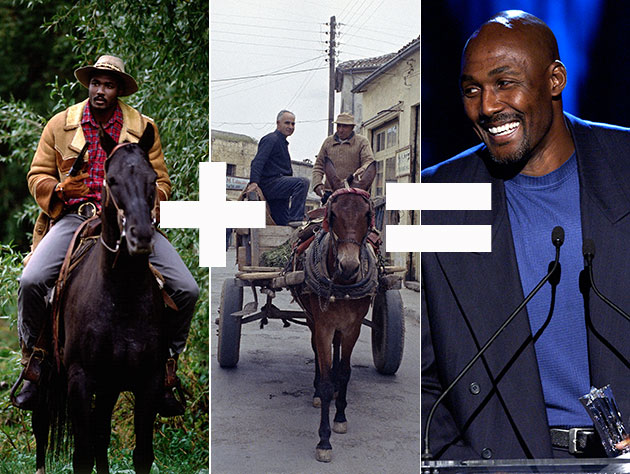 Karl Malone just bought himself a mule
