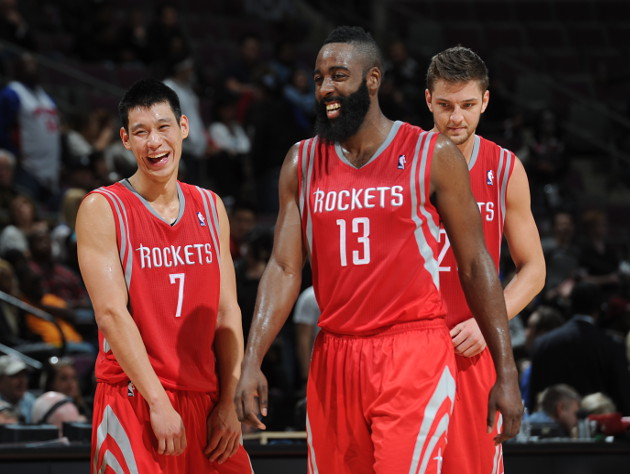 The 10-man rotation, starring how the Houston Rockets make math…