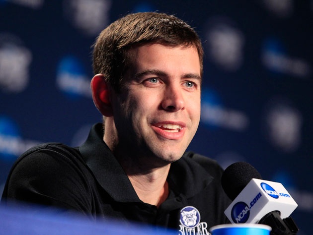 Brad Stevens is hired as the new Boston Celtics head coach
