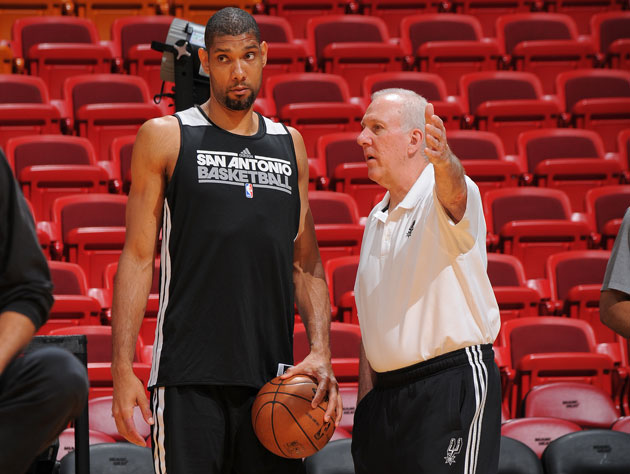 Tim Duncan is not surprised Gregg Popovich sat him late in Game…