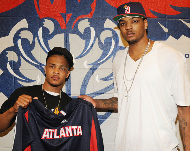 Rapper T.I. will be joining the Atlanta Hawks broadcast booth t…