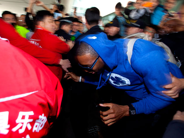 Tracy McGrady and Stephon Marbury are annoyed with the Chinese …