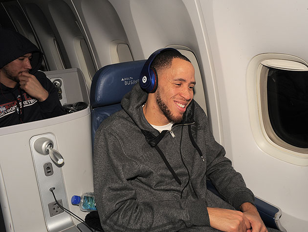 Tayshaun Prince isn't bothered by trade rumors, a