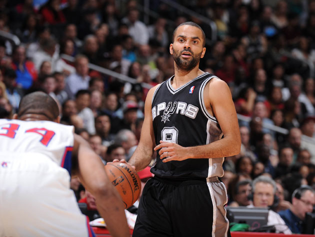 Tony Parker in hot water after a photo is released of him posin…