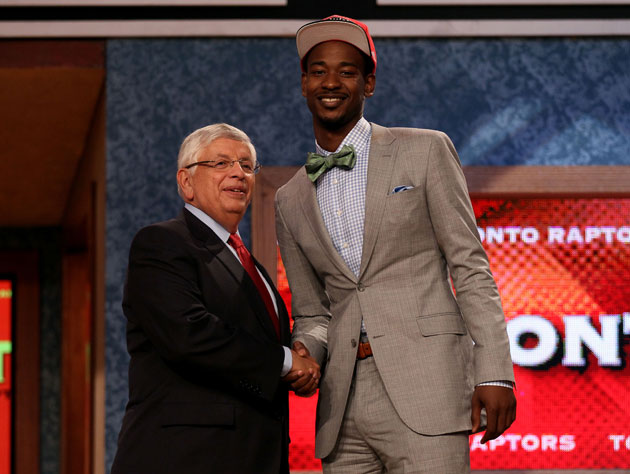 Raptors rookie Terrence Ross was not prepared for driving throu…