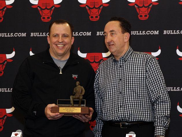 Chicago Bulls coach Tom Thibodeau swears that he and GM Gar For…