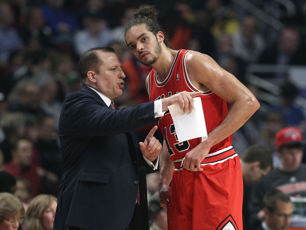 Bulls GM Gar Forman credits Tom Thibodeau for the 'good job' he…