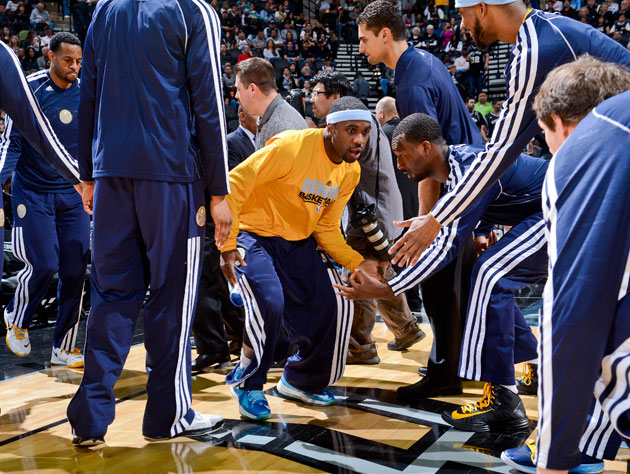 Nuggets' Lawson out with heel, plantar fascia tear