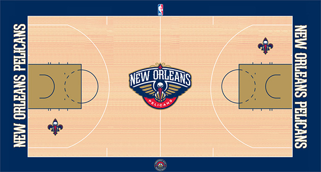 Here's what the New Orleans Pelicans' home court is going to lo…
