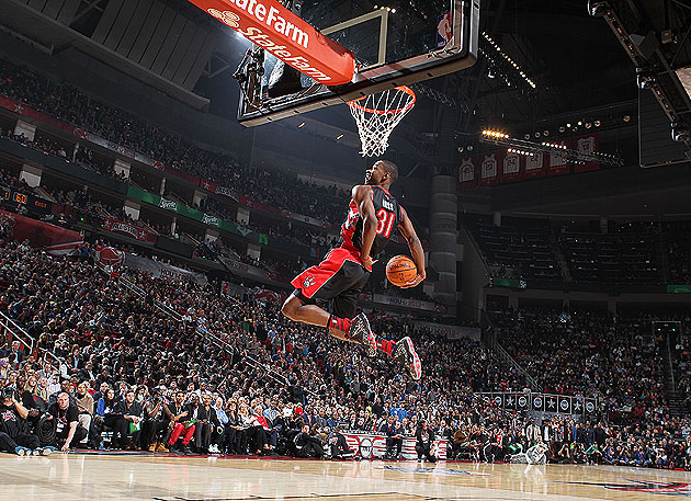 Raptors rookie Ross new slam dunk champ