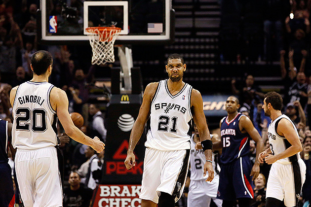 Tim Duncan (23 points, 21 rebounds) hits last-second game-winne…