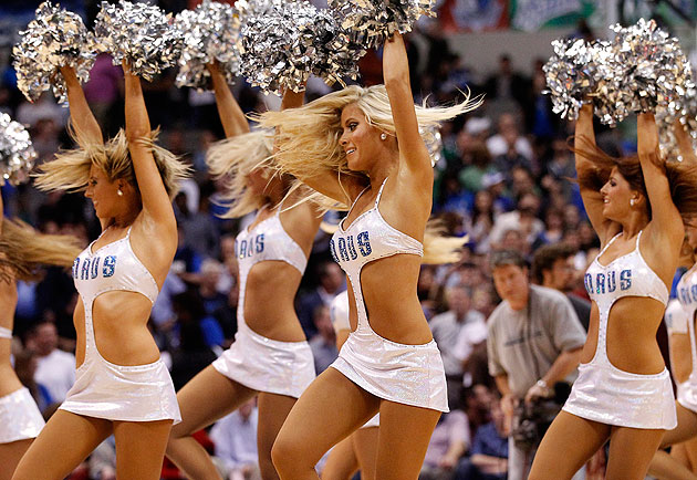 The Dallas Mavericks Dancers' new uniforms prove not everything…
