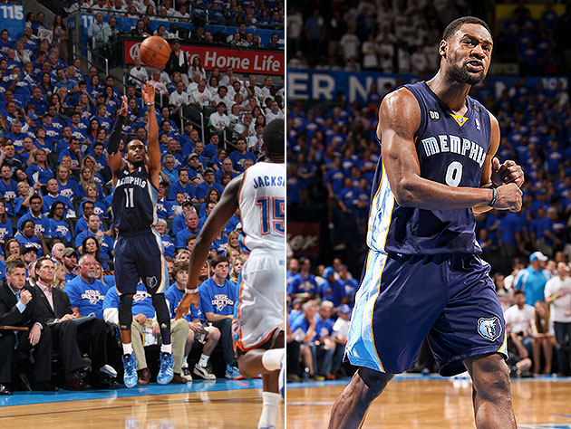 Mike Conley, Tony Allen bounce back big in Grizzlies' Game 2 wi…