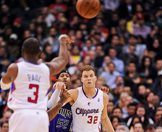 The 10-man rotation, starring Blake Griffin accepting that the …