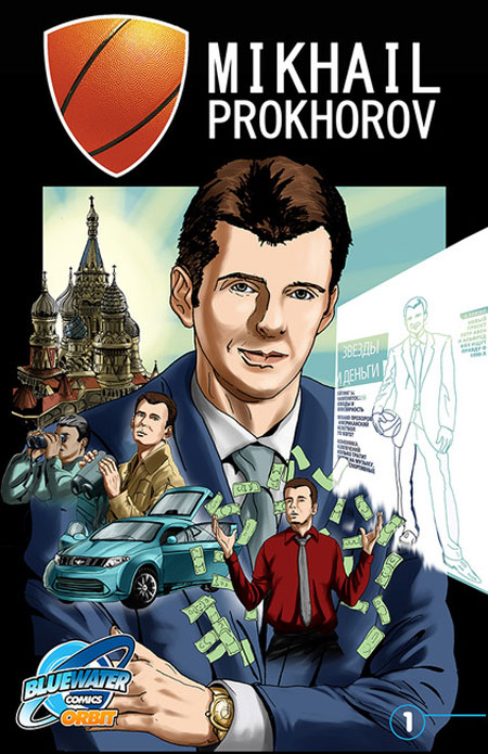 Mikhail Prokhorov's life is now a comic book
