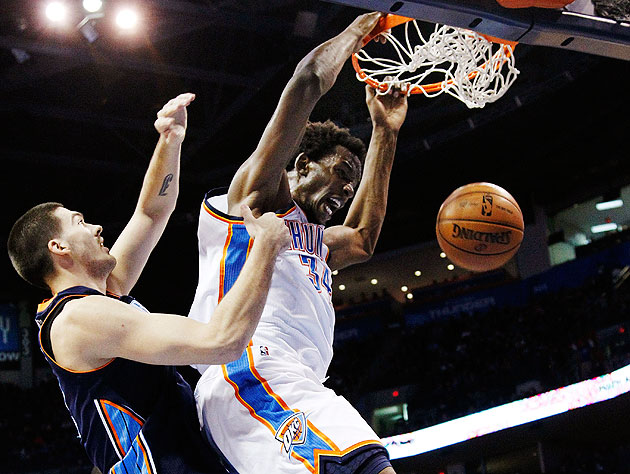 Hasheem Thabeet finally has an NBA game highlight video, thanks…