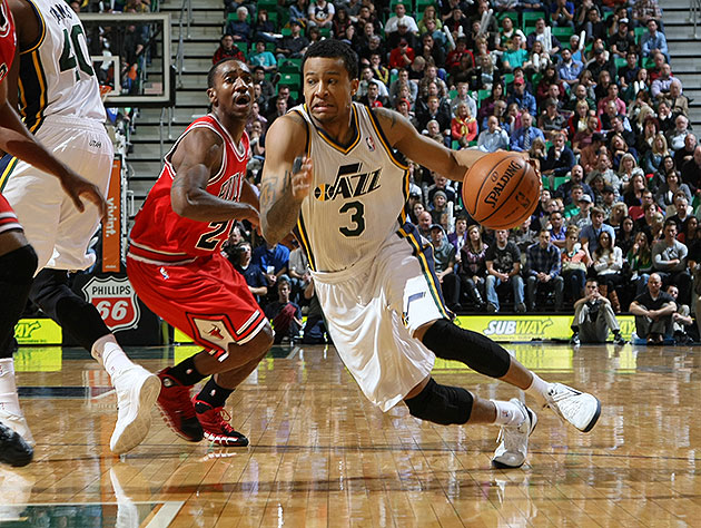 Hey, Trey Burke did some neat stuff and the Jazz won, which is …