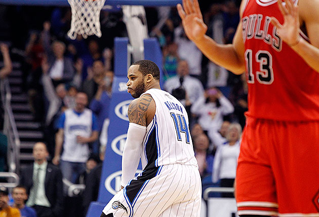Jameer Nelson fined $15K for 'obscene gesture' in Magic's tripl…