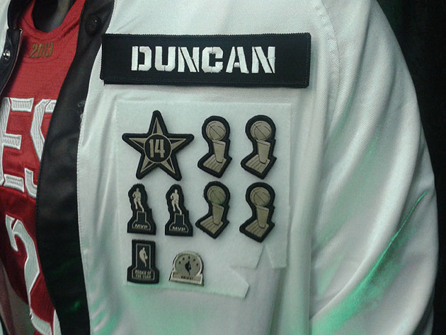 2013 All-Star warm-up jackets have patches showcasing players' …