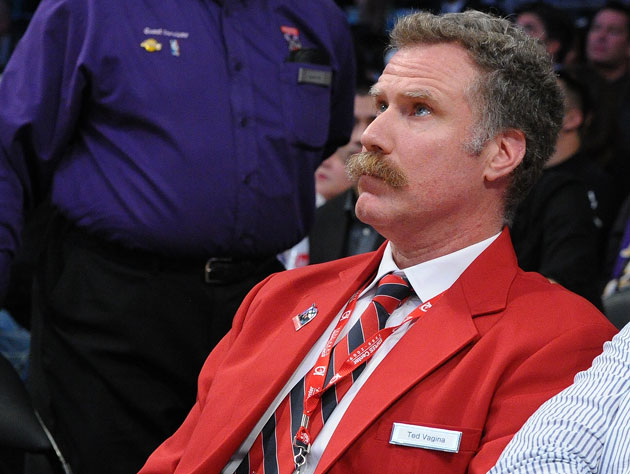 Will Ferrell plays a security guard at a Laker game, ejects Sha…