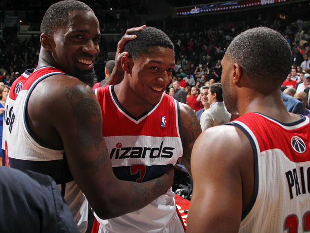The Washington Wizards call an audible, and divert the team bus…