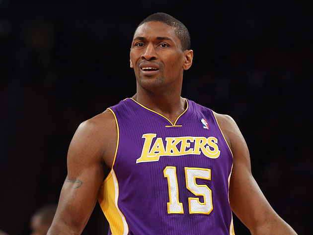 Does Metta World Peace know it's Christmastime at all?