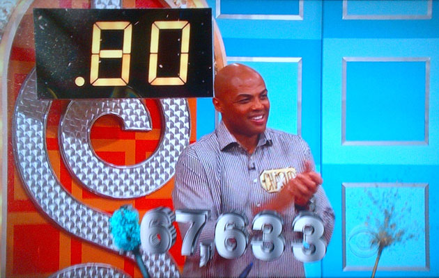 Charles Barkley plays 'Price is Right,' wins $67K for Sacrament…
