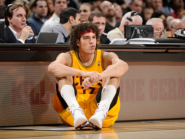 The 10-man rotation, starring what Anderson Varejao's injury me…