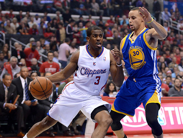 Chris Paul out-duels Stephen Curry, becomes first 40-15-5 playe…