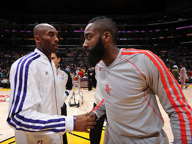 Create-a-Caption: Kobe Bryant advises James Harden