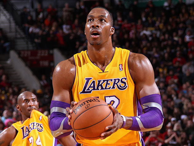 Dwight Howard airballs free throw, but Nets go away from 'Hack-…