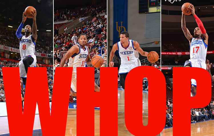 Meet Team WHOP, the Philadelphia 76ers' rap group