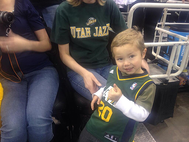 Update: Sad young Utah Jazz fan still saddened by Jazz getting …
