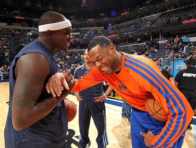 Zach Randolph on whether he'd take Kendrick Perkins in a fight:…