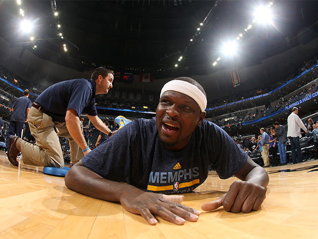 Zach Randolph wants to commit to Memphis, revealing that he'd '…