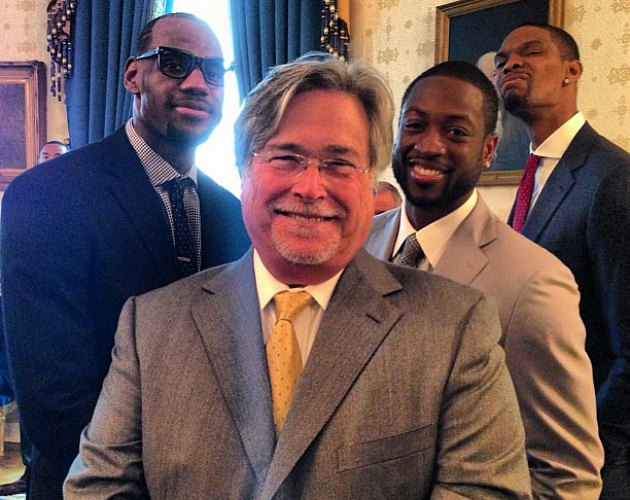 LeBron James's off-the-cuff White House remarks highlight Miami…