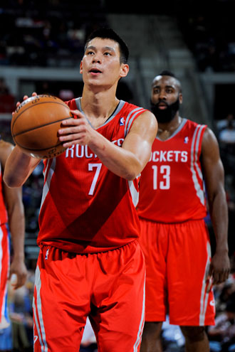 Jeremy Lin and James Harden are the NBA's best backcourt. Do no…