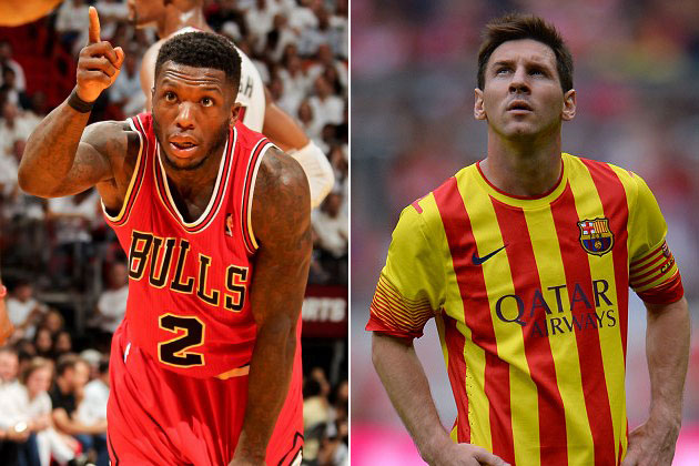 Nate Robinson will wear No. 10 with the Denver Nuggets to honor…