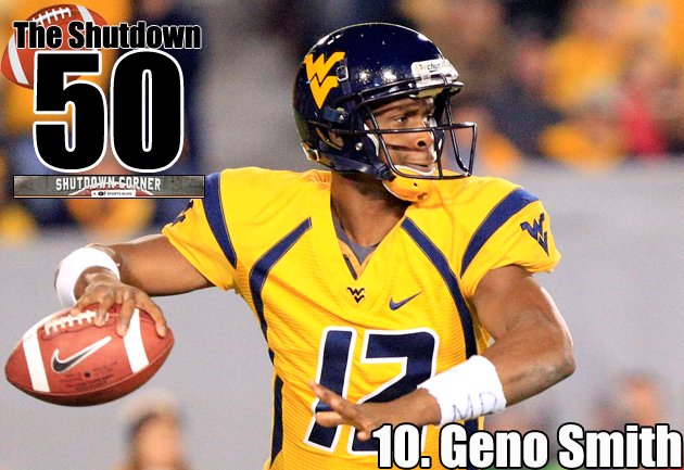 The Shutdown 50: West Virginia QB Geno Smith
