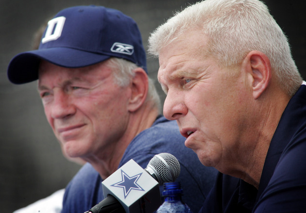 Bill Parcells says that your perception of Jerry Jones is all w…